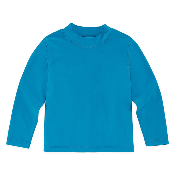 Okie Dokie Boys Long Sleeve Rash Guard-Toddler