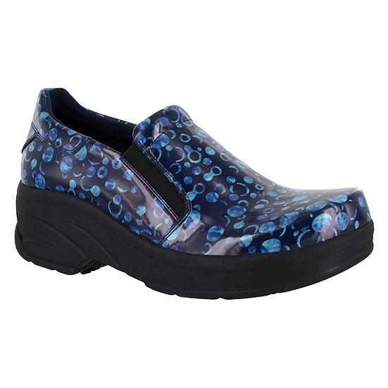 Easy Works By Easy Street Womens Appreciate Slip-On Round Toe Shoe