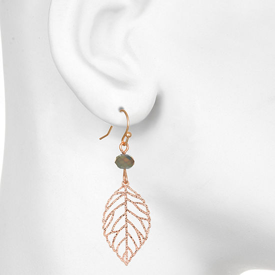 Mixit 1 Pair Round Drop Earrings