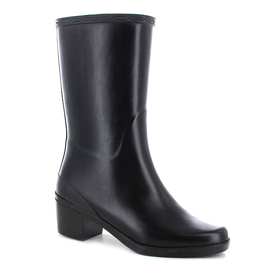 Chooka Fashion Womens Georgia Waterproof Flat Heel Pull-on Rain Boots
