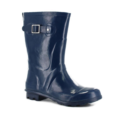 Western Chief Womens Classic Mid Waterproof Flat Heel Pull-on Rain Boots