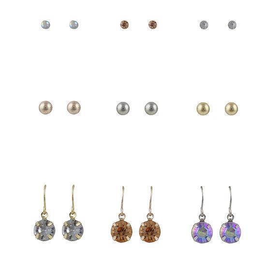Decree 9 Pair Earring Set