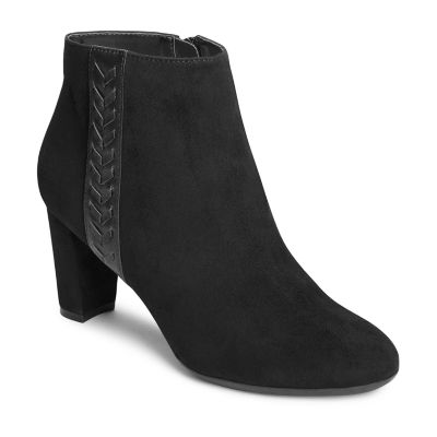 A2 by Aerosoles Womens Avenue A Block Heel Booties