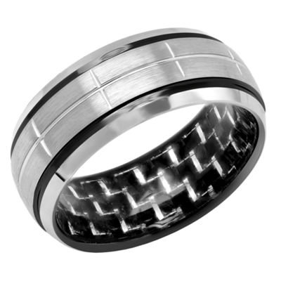 Mens 9M Tungsten Wedding Band
