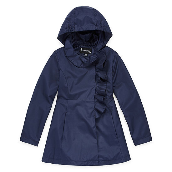 S Rothschild Girls Hooded Lightweight Raincoat Preschool / Big Kid