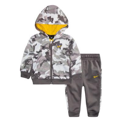 Nike Logo 2-pc Pant Set Baby Boy