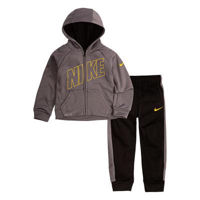 Nike 2-pc. Logo Pant Set Toddler Boys
