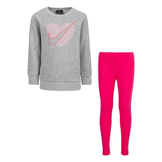 Nike-Little Girls 2-pc. Legging Set