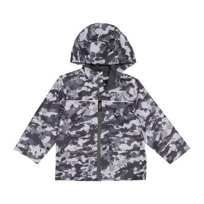 Skechers Fleece Lined Heavyweight Raincoat-Preschool Boys
