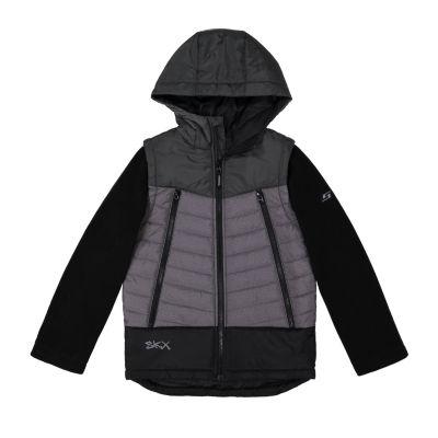 Skechers Fleece Lined Heavyweight Puffer Jacket-Big Kid Boys