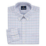 Stafford Travel Stretch Oxford Mens Long Sleeve Dress Shirt