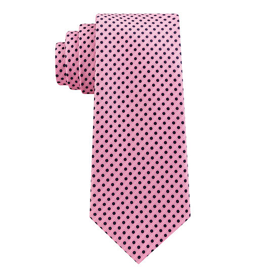 Stafford Dotted Grid Tie