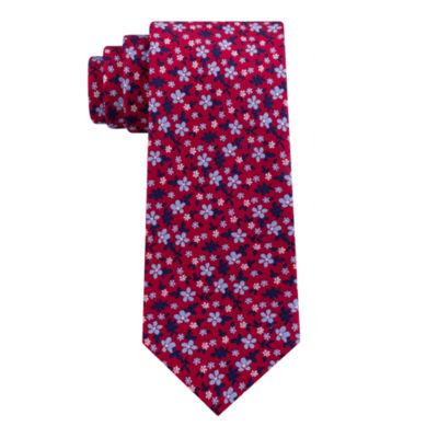 Stafford Floral Print Tie