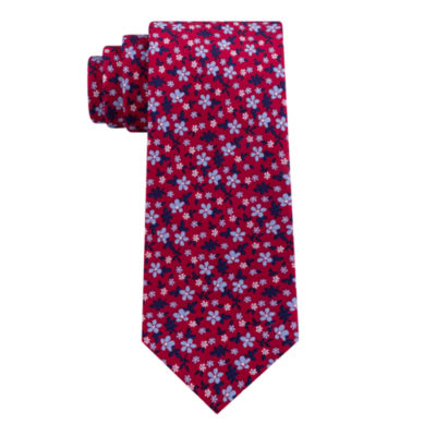 Stafford Floral Print Xl Floral Tie
