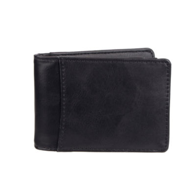 Exact Fit™ RFID Secure Stretch Micro-Slim Front Pocket Wallet with Money Clip