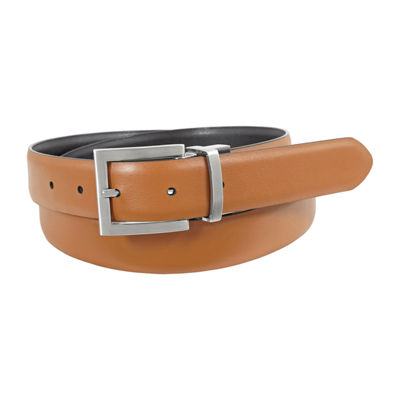 Stacy Adams® Carnac 30MM Reversible Belt with Feather Edge Detail