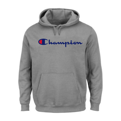 Champion Long Sleeve Jersey Hoodie-Big and Tall