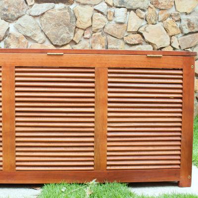 Northbeam Cushion Storage Patio Bench