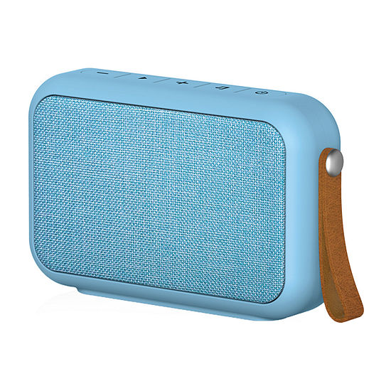 Tzumi Studio Fabric Rectangular Waterproof Bluetooth Speaker