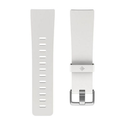 Fitbit Unisex White Watch Band-Fb166abwts