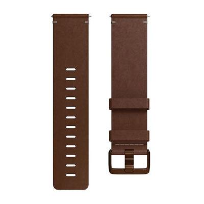 Fitbit Unisex Brown Watch Band-Fb166lbdbl