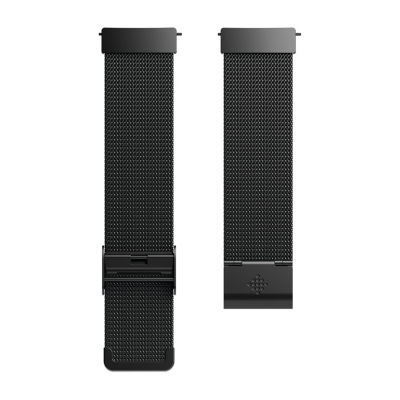 Fitbit Unisex Black Watch Band-Fb166mmbk