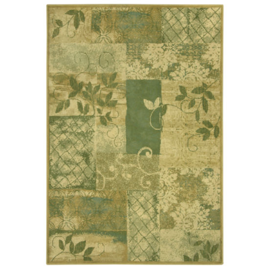 Bacova Guild Vine Tapestry Rectangular Indoor Area Rug
