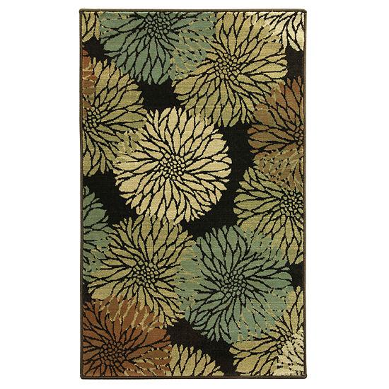 Bacova Guild Blossom Rectangular Indoor Rugs