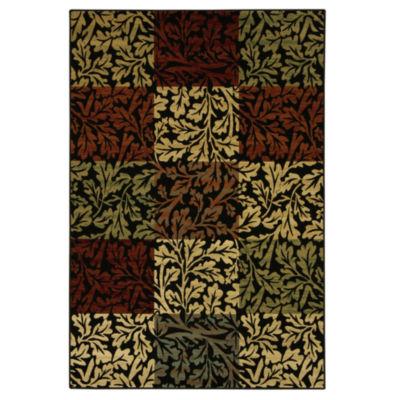 Bacova Guild Shadow Leaf Rectangular Rugs