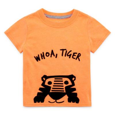 Okie Dokie Round Neck Short Sleeve T-Shirt - Baby Boys