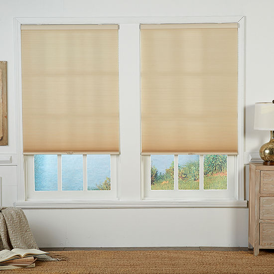 Double Cut-to-Width Cordless Light-Filtering Cellular Shade