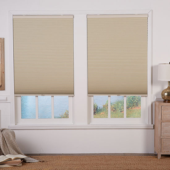 """Cut-to-Width 1½"""" Cordless Blackout Cellular Shade"""