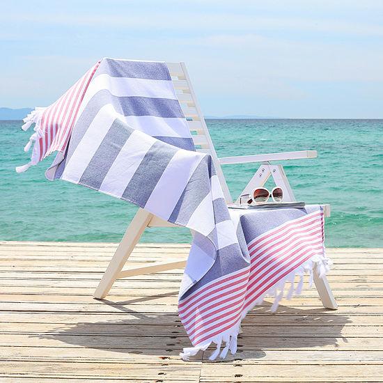 Linum Home Textiles Patriotic 36x65 Beach Towel