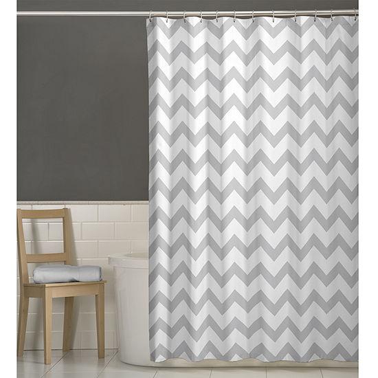 Maytex Chevron Shower Curtain
