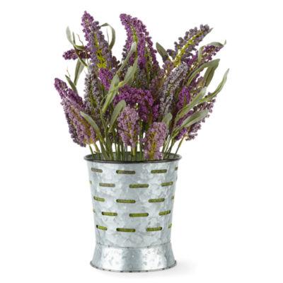 JCPenney Home Lavender Olive Pot Centerpiece