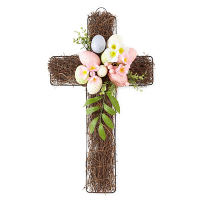 JCPenney Home Easter Egg Cross