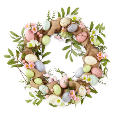 JCPenney Home Easter Egg Wreath