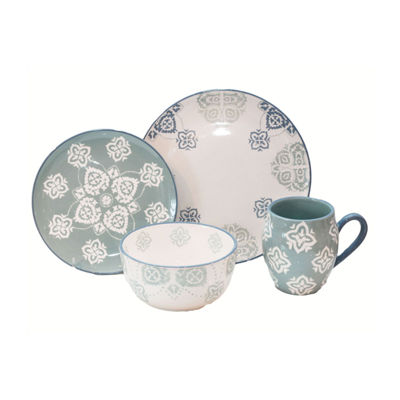 Baum Painterly 16-pc. Dinnerware Set