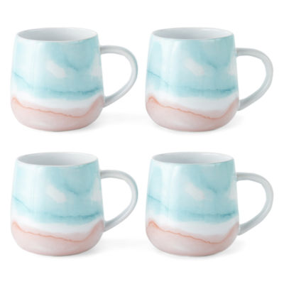 JCPenney Home Brunch 4-pc. Coffee Mug