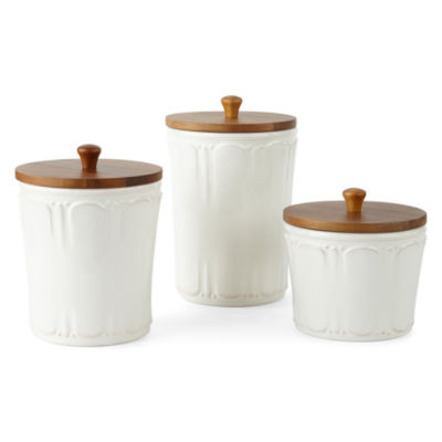 JCPenney Home Ambrose 3-pc. Canister