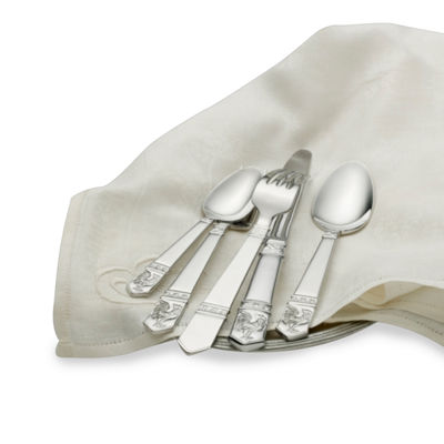 Wallace International 45-pc. 18/10 Stainless Steel Flatware Set