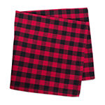 Design Imports Red Logger Check 6-pc. Napkins