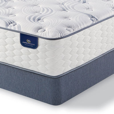 Serta® Perfect Sleeper® Select Linville Plush - Mattress + Box Spring