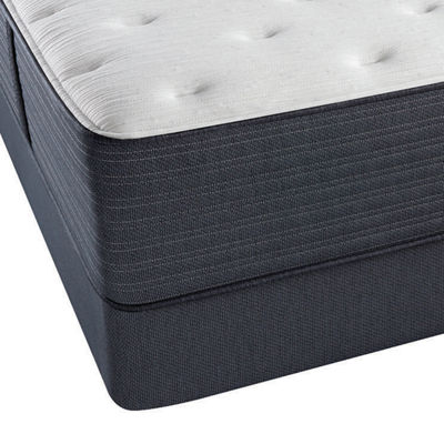 Beautyrest Platinum Chambers Bridge Plush Tight-Top Mattress + Box Spring