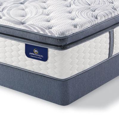 Serta® Perfect Sleeper® Elite Whitepond Super Pillowtop - Mattress + Box Spring