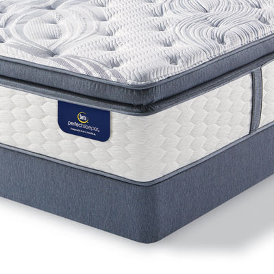 Serta Perfect Sleeper Elite Whitepond Super Pillowtop Mattress Box