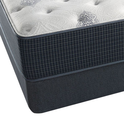 Beautyrest Silver® Snowhaven Plush - Mattress + Box Spring
