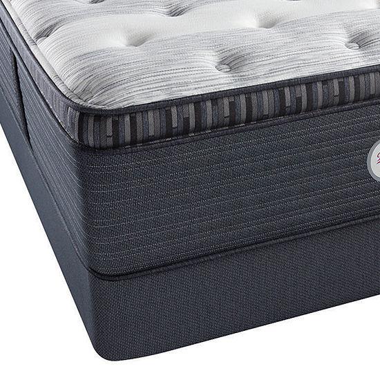 Beautyrest® Platinum® Fullerton Plush Pillow-Top - Mattress + Box Spring
