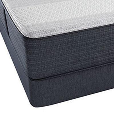 Beautyrest® Platinum® Hansberry Plush Tight-Top Hybrid - Mattress + Box Spring