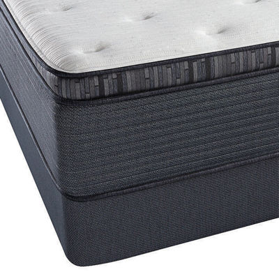 Simmons Beautyrest Silver Fernanda Plush Mattress Box Spring Jcpenney